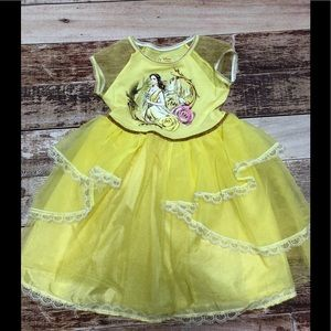 Disney Beauty and the Beast Belle dress size xs